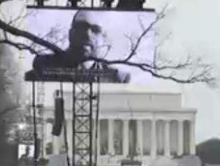 Snippet of American Prayer at the Inaugural Opening Ceremony