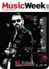 Dave Stewart on Music Week Cover in the UK