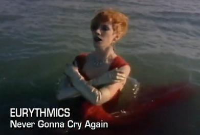"""Video of the Week – Eurythmics """"Never Gonna Cry Again"""""""