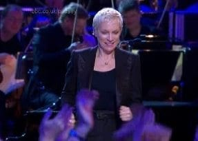 Annie Lennox performance of Why at The Royal Albert Hall on 12th November