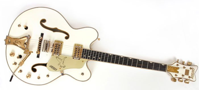 Dave Stewart's rare Gretsch Guitar auction ending soon.  Support Stand Up To Cancer!