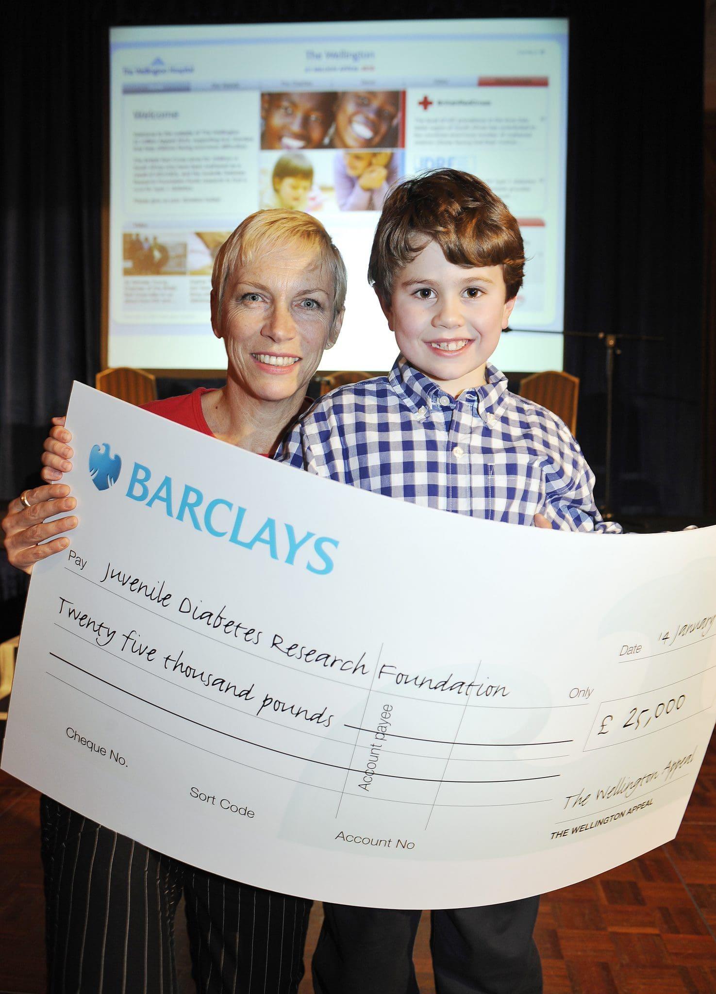 Annie Lennox launches Wellington £1 Million Appeal