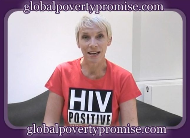 Annie Lennox Helps Launch The Global Poverty Promise Campaign