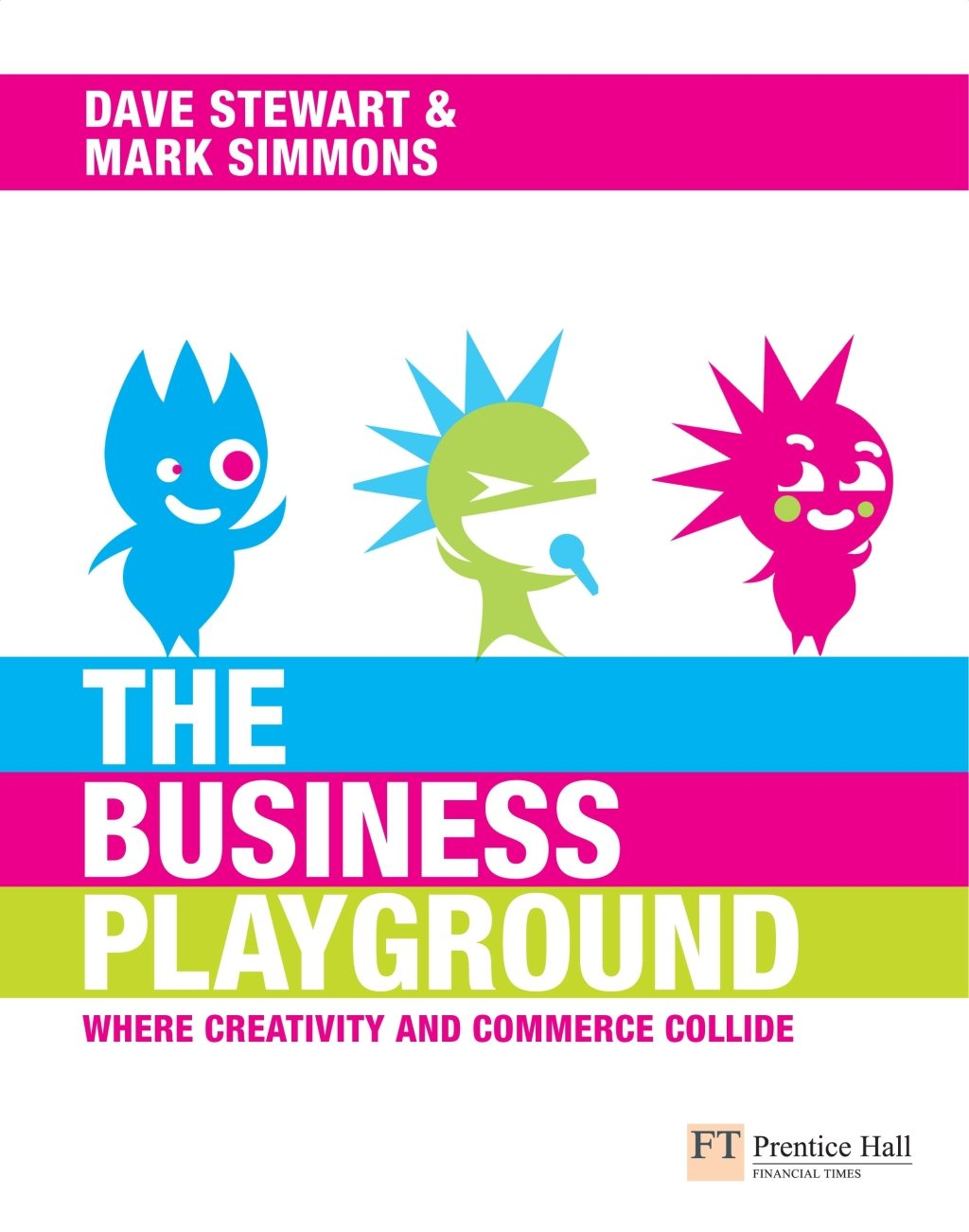 The Business Playground, Dave Stewart and Mark Simmons new book.