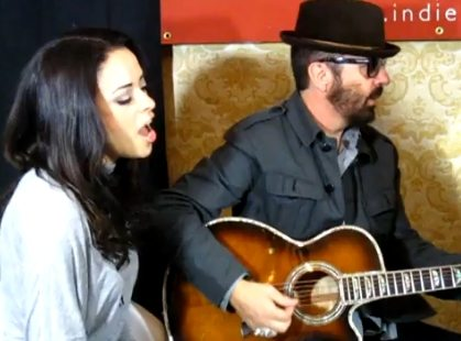 Dave Stewart and Cindy Gomez performance at CMW