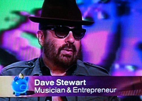 Dave Stewart on BBC Working Lunch