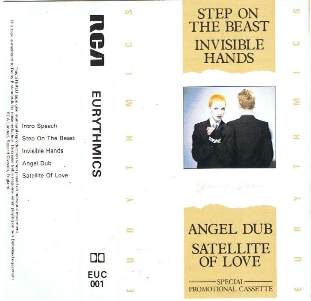 Song Of The Week :  Step On The Beast – Eurythmics