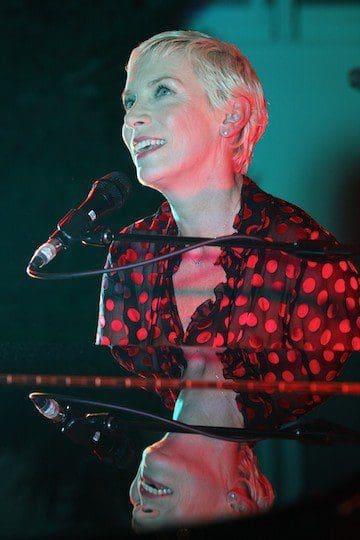 Annie Lennox Launches A Christmas Cornucopia At The Music Room In Mayfair