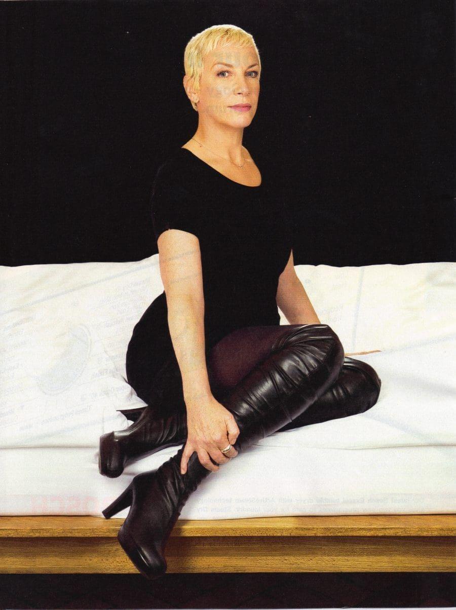 Annie Lennox – Brand New Photo's In The Observer Magazine Print Version