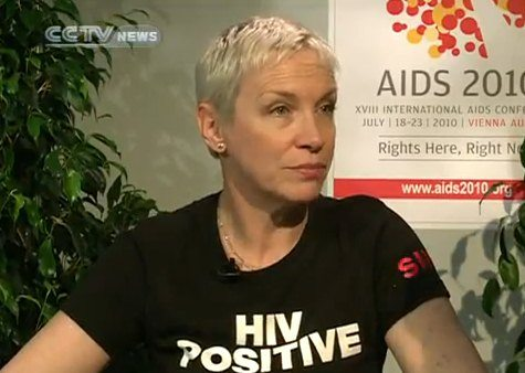 New Interview With Annie Lennox Recorded At The International AIDS Conference In Vienna