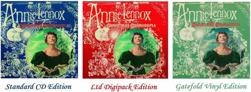"Annie Lennox's ""A Christmas Cornucopia"" Enters The UK Charts At No. 27"