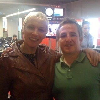 An Audioboo Interview With Annie Lennox After The Robert Elms Show