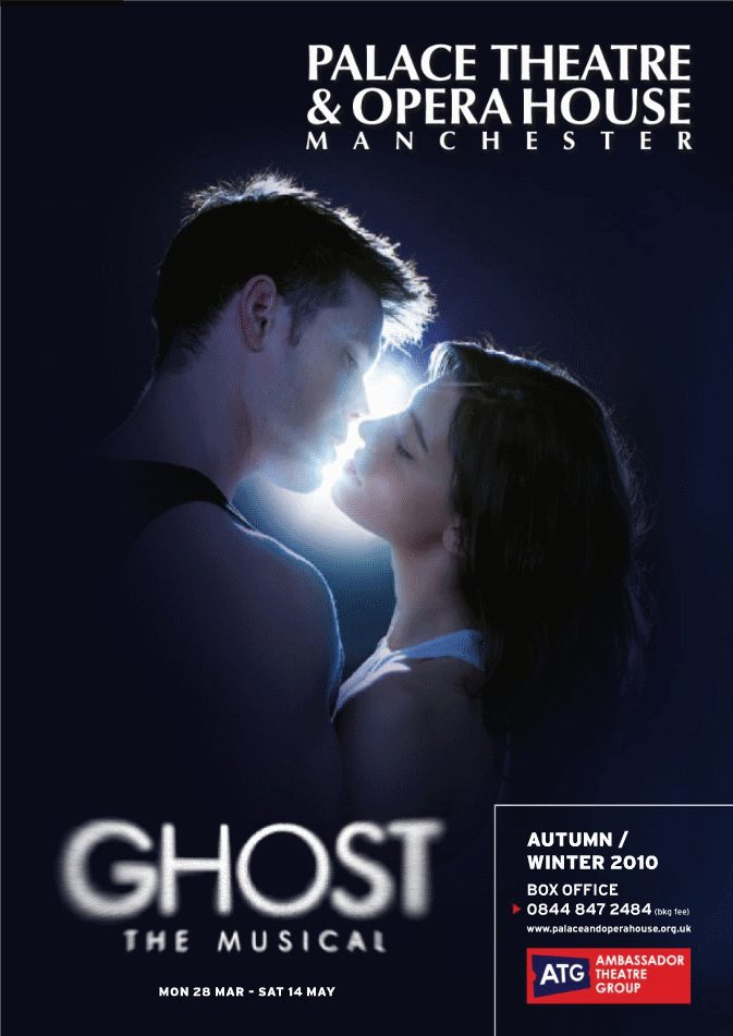 Ghost The Musical – Manchester Opera House Season Brochure