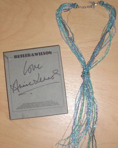 Annie Lennox's Necklace Sold For £360.00 On eBay For Charity Royal Blind
