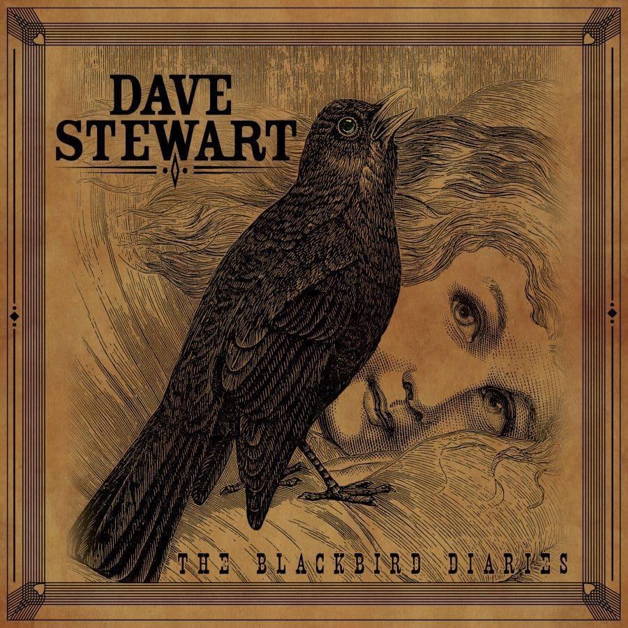 "Dave Stewart Reveals The Final Artwork For ""The Blackbird Diaries"" Vinyl Edition"