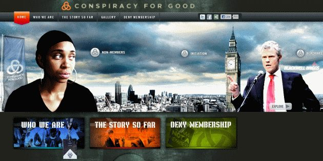Dave Stewart And Nadirah X Featured In Conspiracy For Good Wrap Video