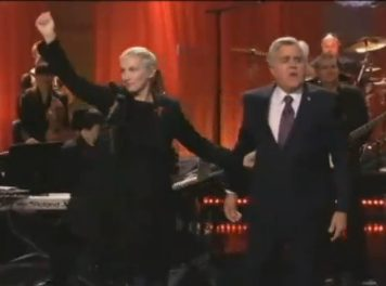 "Annie Lennox's Performance Of ""Universal Child"" On Jay Leno's Tonight Show"