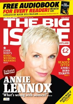Annie Lennox Interview In The Big Issue Scotland