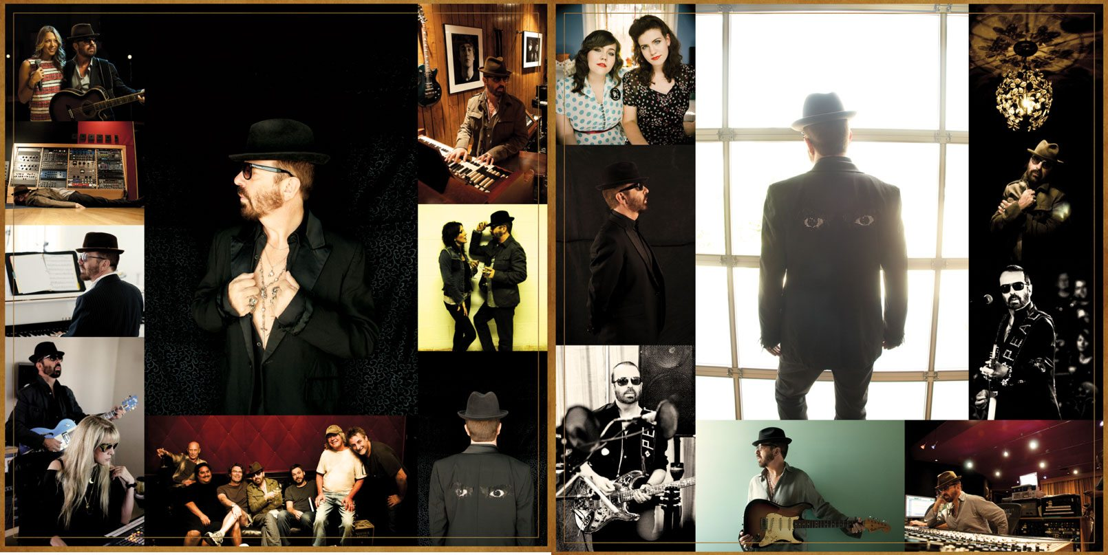 "Dave Stewart Reveals Draft Version Of ""The Blackbird Diaries"" Gatefold Sleeve"