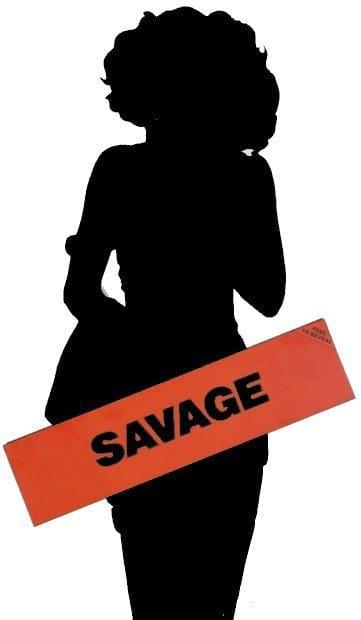 Eurythmics Savage25: Rare Alternative Savage Artwork