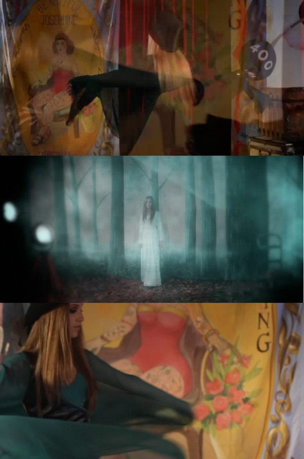 Dave Stewart Reveals Some Shots From The New Stevie Nicks Video