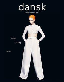 Dansk Magazine Cover Inspired By Annie Lennox