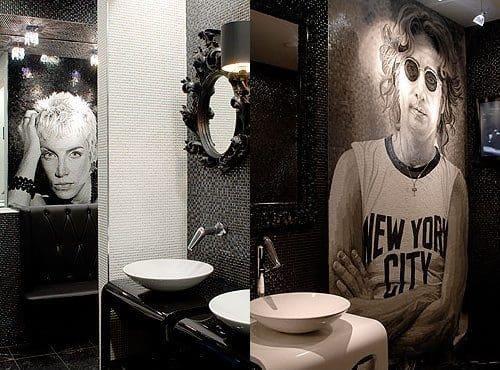 """Under the Bridge"" at Chelsea Football Club wins Loo Of The Year Award featuring an Annie Lennox mosaic"