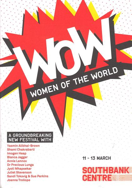 Annie Lennox Is Taking Part In WOW Den On Sunday At The Royal Festival Hall