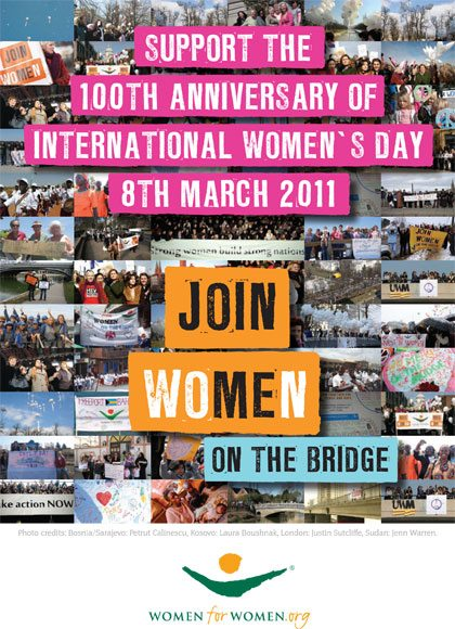 Annie Lennox On The Bridge For International Womens Day Photo Gallery