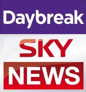 Annie Lennox Talking About International Womens Day On ITV Daybreak And Sky News