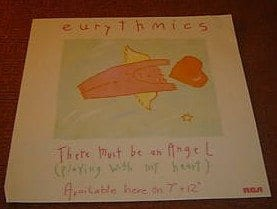 """Memorabilia Of The Week: Eurythmics – """"There Must Be An Angel"""""""