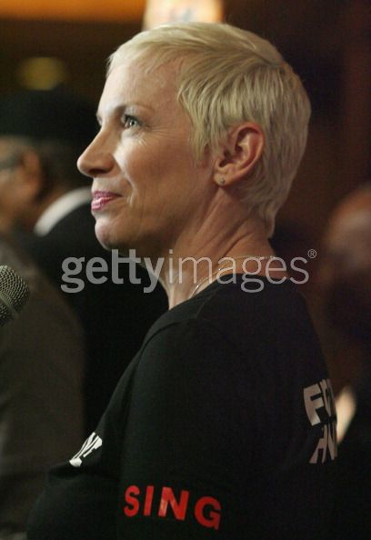 Photo's Of Annie Lennox At NARM In Los Angeles