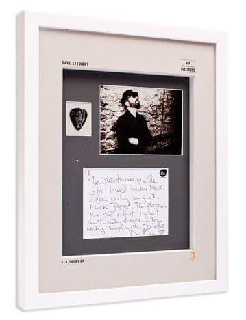 Dave Stewart Donates Plectrum To Ben Sherman's VIP (Very Important Plectrum) Auction
