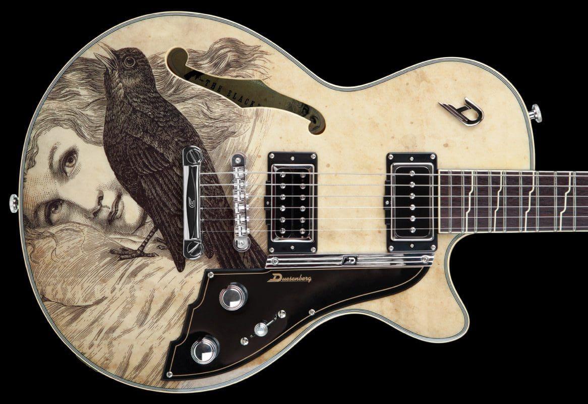 Duesenberg Artist Series – The Dave Stewart Blackbird Diaries Guitar