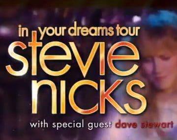 Stevie Nicks And Dave Stewart In Australian Tour – TV Advert