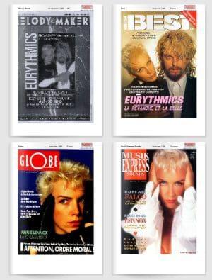 Eurythmics Revenge 25: Day 25 Revenge Era Magazines From Around The World