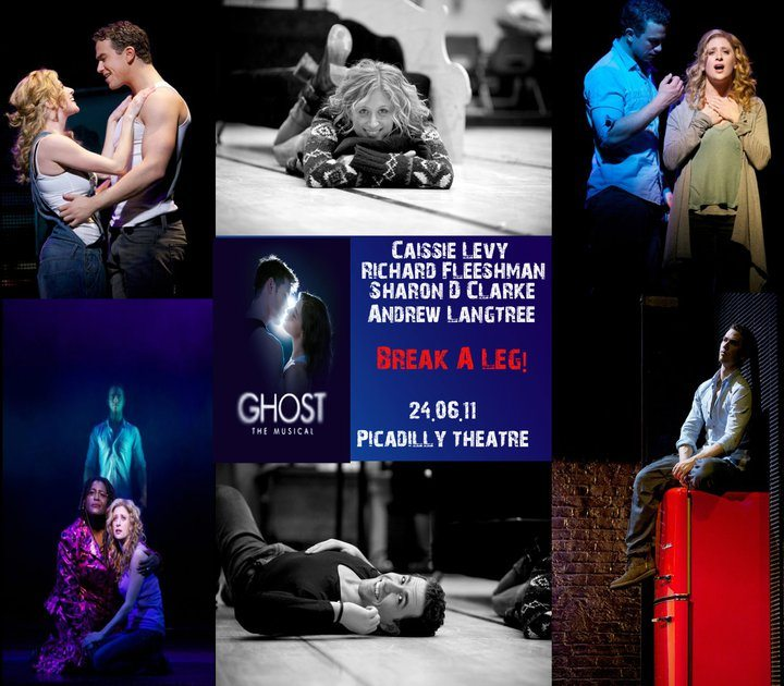 Ghost The Musical With Music By Dave Stewart Opens In London Tonight