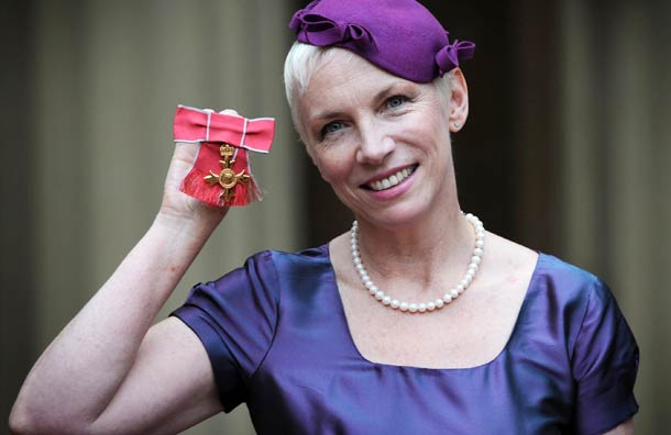 A Trio Of Awards For Annie Lennox In One Special Week