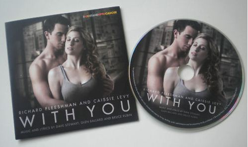Record Of The Week: Rare With You Promo CD Featuring Dave Stewart, Richard Fleeshman and Caissie Levy