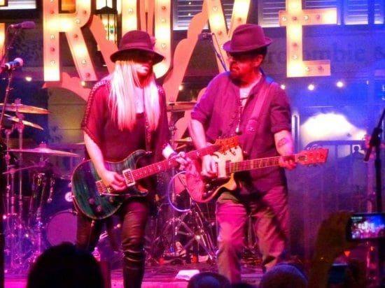 Dave Stewart And Orianthi Were On Fire In LA