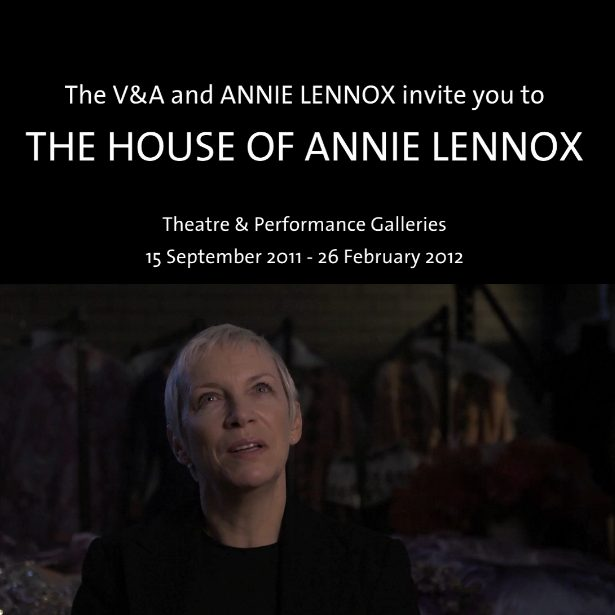 The House Of Annie Lennox Invitation
