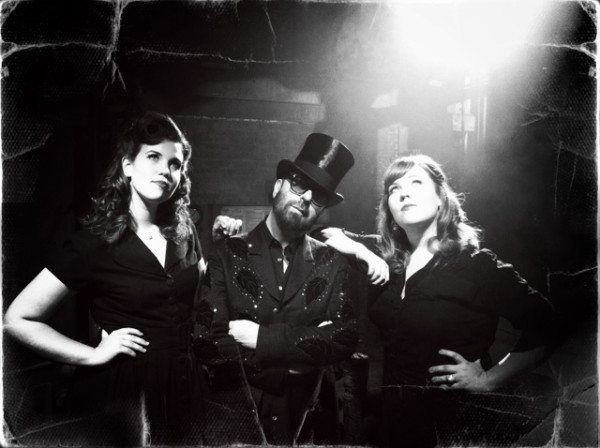 Dave Stewart And The Secret Sisters Record Video At A Secret Place!