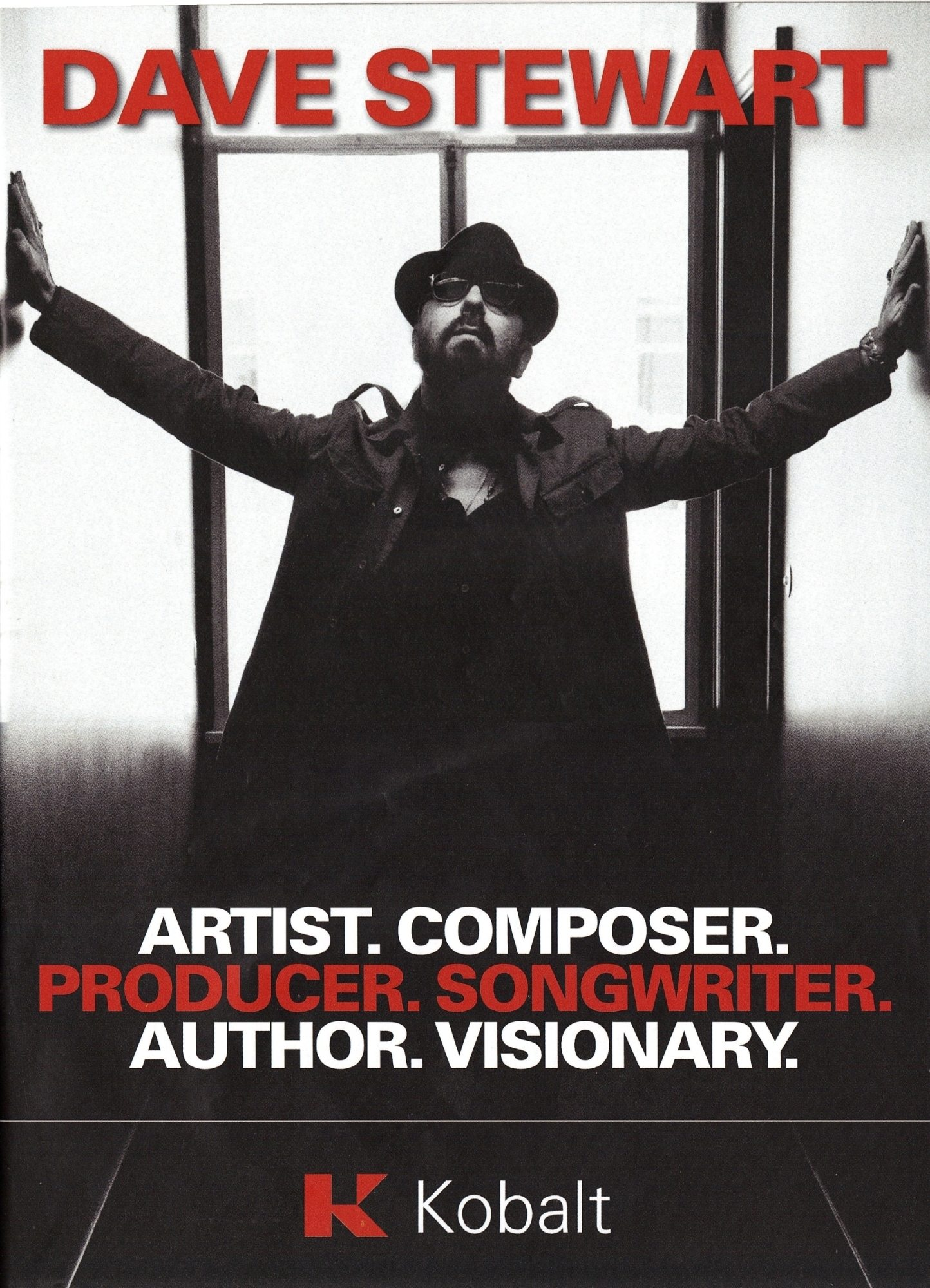Dave Stewart Music Week Feature: The Ringmaster General And Eurythmics.