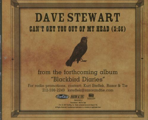 Record Of The Week: Dave Stewart Can't Get You Out Of My Head USA Promo CD