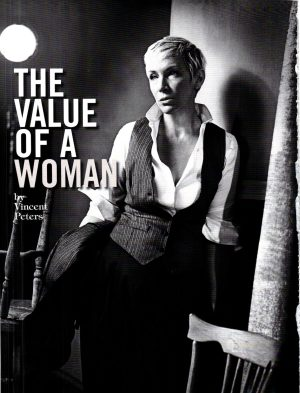 Annie Lennox Feature In August Edition Of Vogue Italy