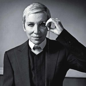 Stunning New Pictures Of Annie Lennox In October Issue Of L'Uomo From Italy