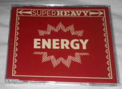 First Picture Of Superheavy Energy UK Promo CD