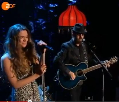 Dave Stewart And Joss Stone Perform Live In Germany On Wetten Dass