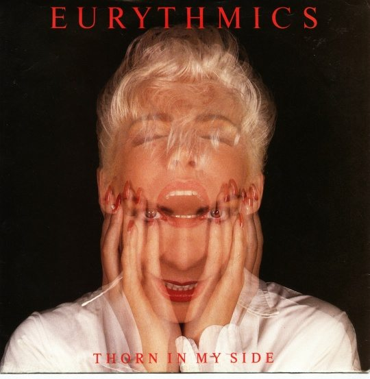 Eurthmics Thorn In My Side Cover Featured By Out Magazine From Matthew Chojnacki's Put The Needle On The Record Book.