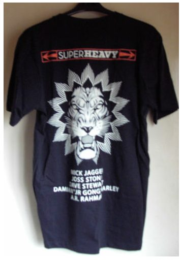 Rare Promotional Superheavy T-Shirt